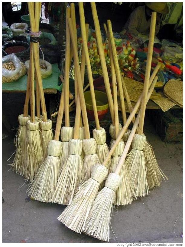 Brooms for sale. (Photo ID 9678-