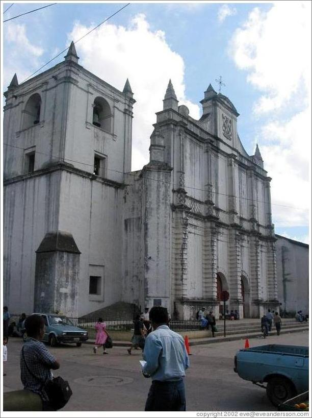 Main cathedral in Cobán.