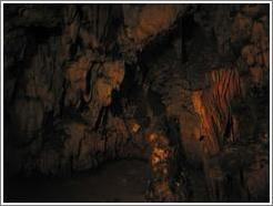 Formation, Lanquín caves.