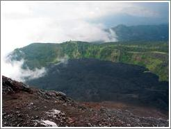 View from the top of Volcan Pacaya.