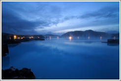 Blue Lagoon at dawn.