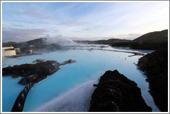 Blue Lagoon, viewed from viewing platform.