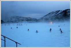 Blue Lagoon, an incredible geothermal spring.