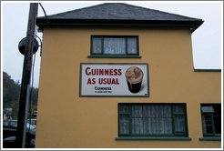 """Guinness As Usual"" -- on a pub in a tiny town south of Dublin."