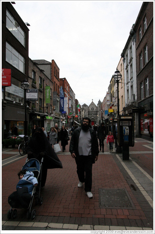 Anne Street, near Grafton Street.