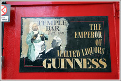 Guinness, emperor of malted liquors.  Temple Bar.