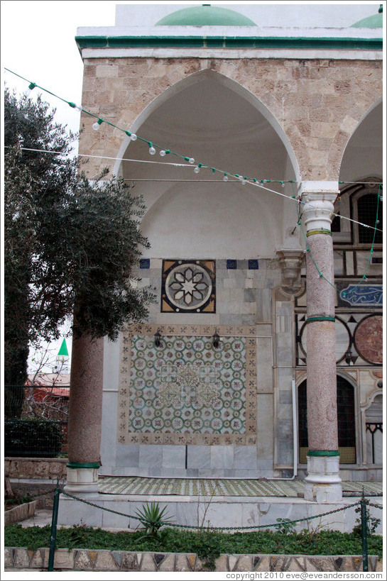Wall, Al-Jazzar Mosque.  Old town Akko.