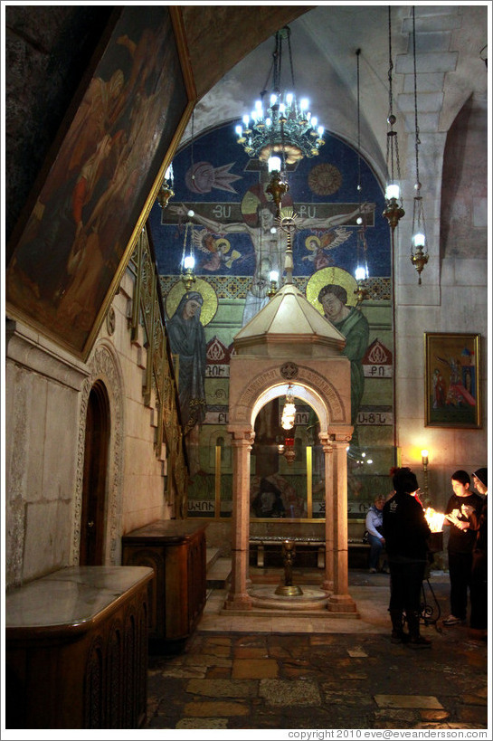 Church of the Holy Sepulchre, Christian Quarter, Old City of Jerusalem.