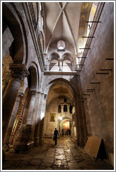 Crusaders section, Church of the Holy Sepulchre, Christian Quarter, Old City of Jerusalem.