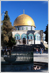 Dome of the Rock, Haram esh-Sharif (Temple Mount).