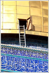 Ladder, Dome of the Rock, Haram esh-Sharif (Temple Mount).