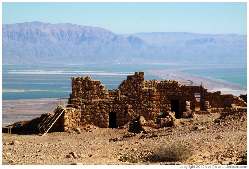 South Gate, desert fortress of Masada.