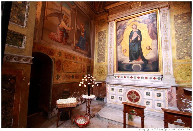 Ceiling Orsini Chapel Trinit Ei Monti Photo Id 17646 Rome