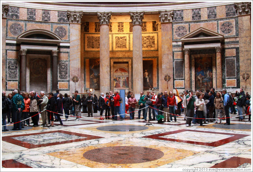 Floor The Pantheon Photo Id 17696 Rome