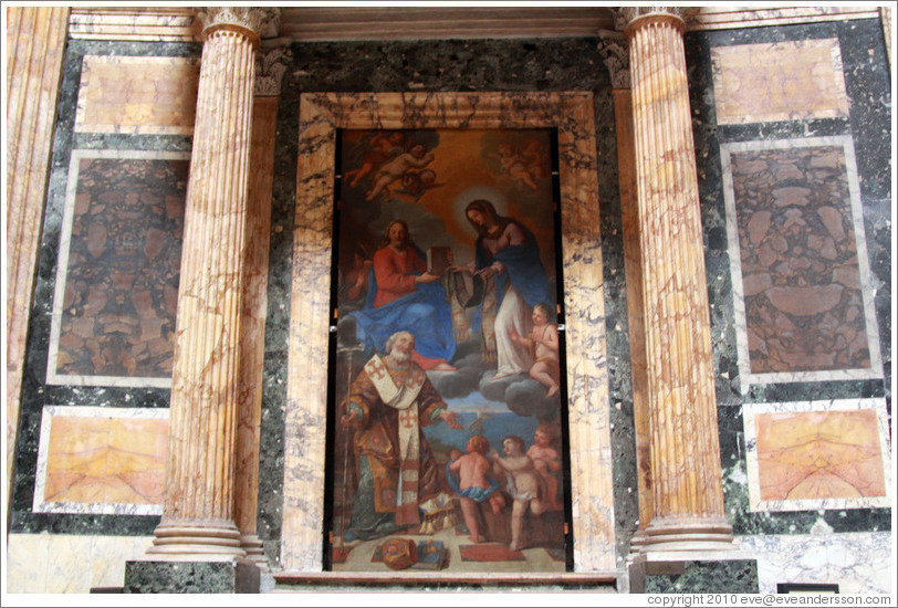Painting, The Pantheon.