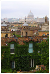 View of Rome from Viale della Trinit?ei Monti, Pincio (The Pincian Hill).