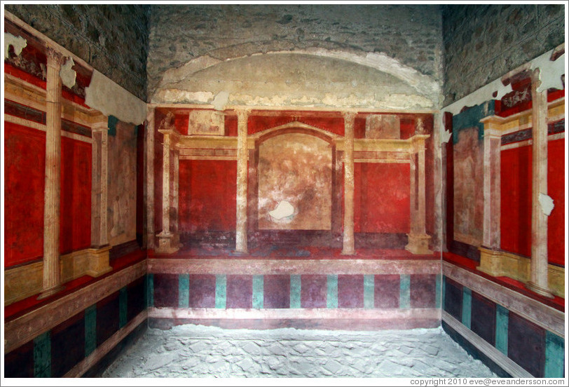 Casa di Augusto (house of Augustus), Palatine Hill.