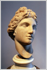 Apollo sculpture, 2nd half of the 4th century BC.  Museo Palatino (Palatine Museum).