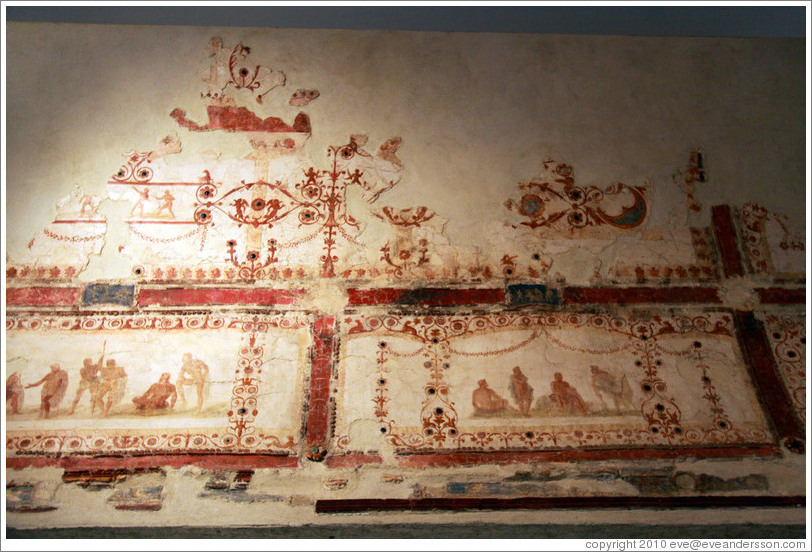 Painted Decorations Of Style Iv 54 68 Ad Museo Palatino