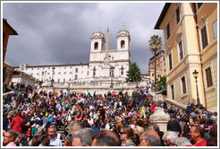 Scalinata della Trinit?ei Monti (The Spanish Steps).