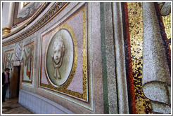 Mosaic in the dome of St. Peter's Basilica, made of smalti.