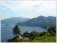 View from the Kamaishi Daikannon.