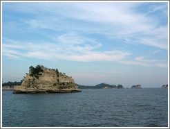 Islands off coast of Matsushima.