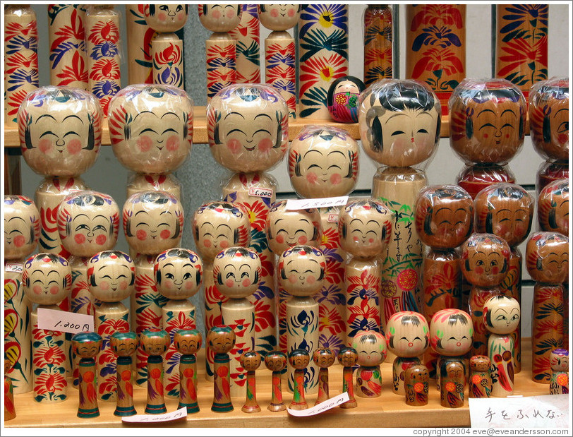 Traditional dolls.