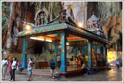 Temple, 2nd level, Batu Caves.