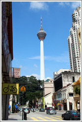 KL Tower, viewed form Jalan Dan Wangi.
