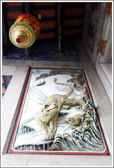 Tigers and lamp, Han Jiang Teochew Ancestral Temple.