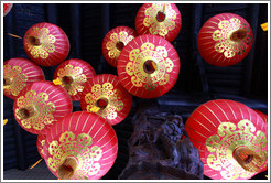 Lamps, Kuan Yin Teng (Temple of the Goddess of Mercy).