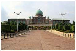 Perdana Putra, containing the Prime Minister of Malaysia's office complex.