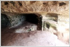 Għar il-Kbir (the Great Cave), a series of cave houses.