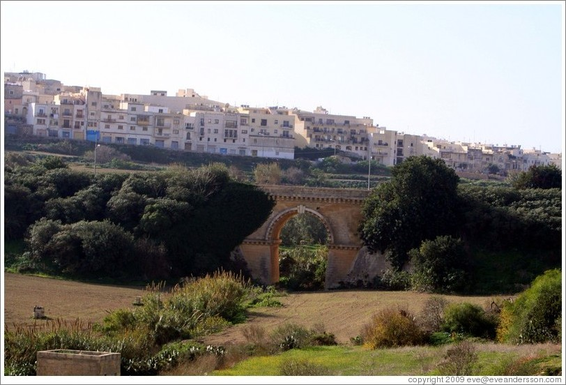 Railway bridge near the historic Notabile train station, outside of Rabat.