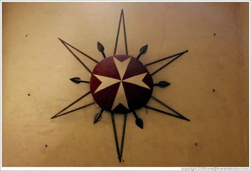 Maltese Cross, Palace of the Grand Master.