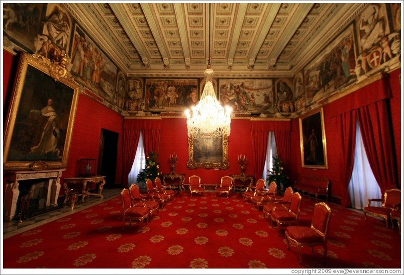 Ambassador's Room, Palace of the Grand Master..