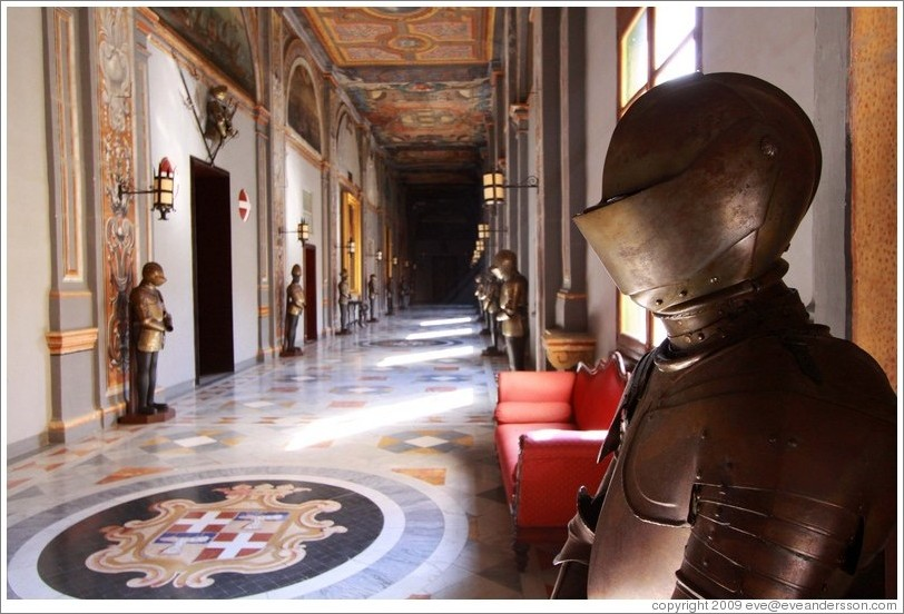 Armor, State Rooms, Palace of the Grand Master.