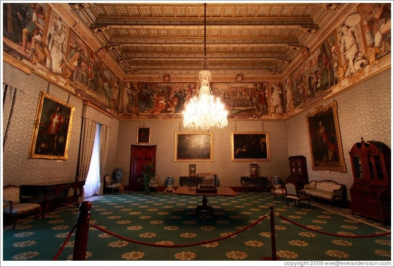 State Rooms, Palace of the Grand Master.