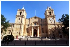 St. Johns Co-Cathedral (Kon-Katidral ta' San Ġwann).