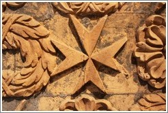 Maltese Cross, St. Johns Co-Cathedral (Kon-Katidral ta' San Ġwann).