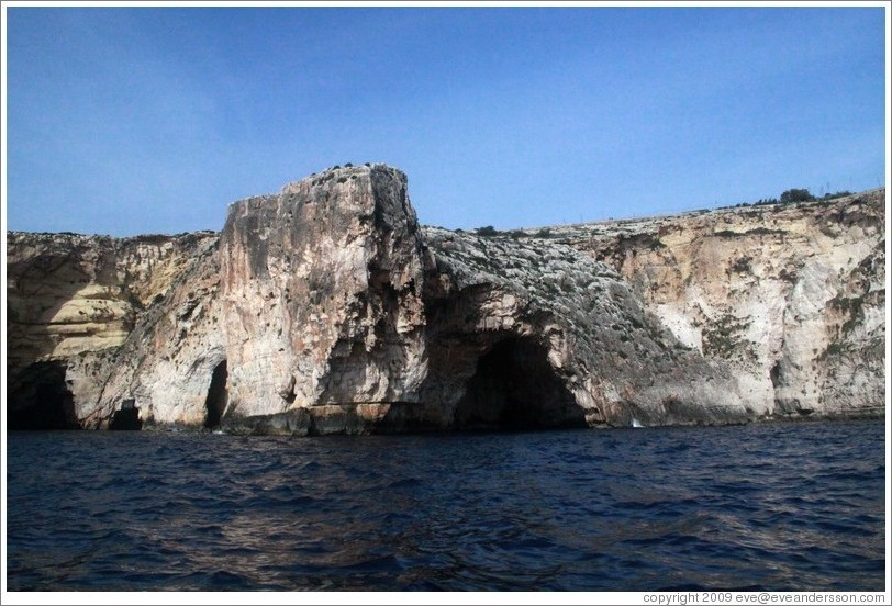 Blue Grotto.