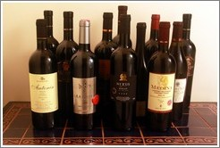 Maltese red wines.