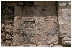 Carvings.  Chichen Itza.