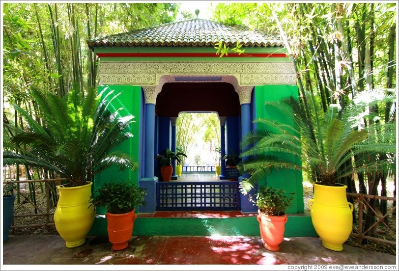 Jardin majorelle photo id 15267 marrakec for Le jardin yves saint laurent marrakech