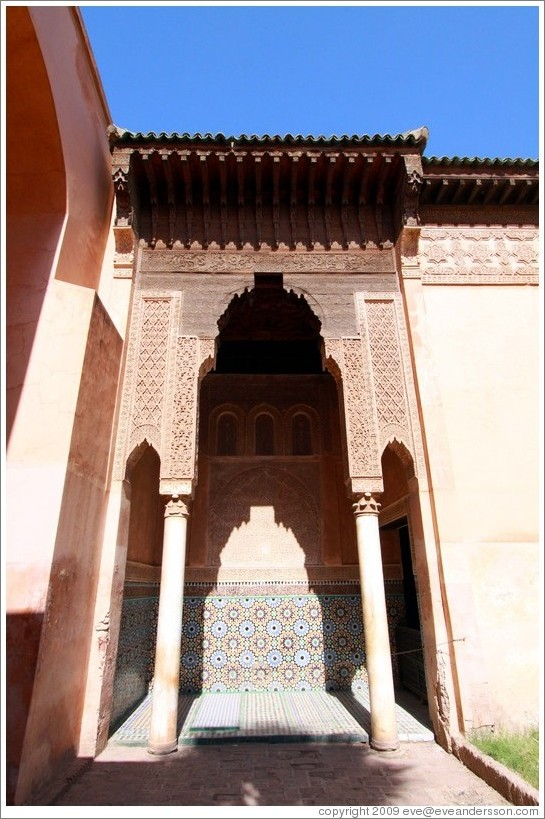 Saadiens Tombs.