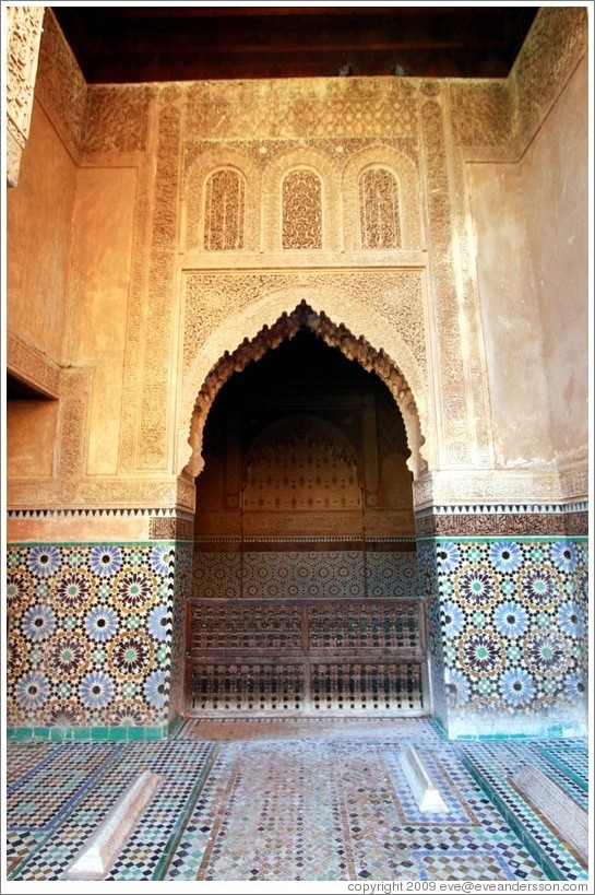 Doorway, Saadiens Tombs.