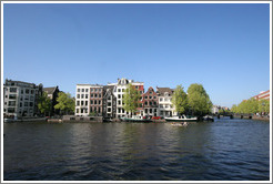 Amstel canal, Centrum district.