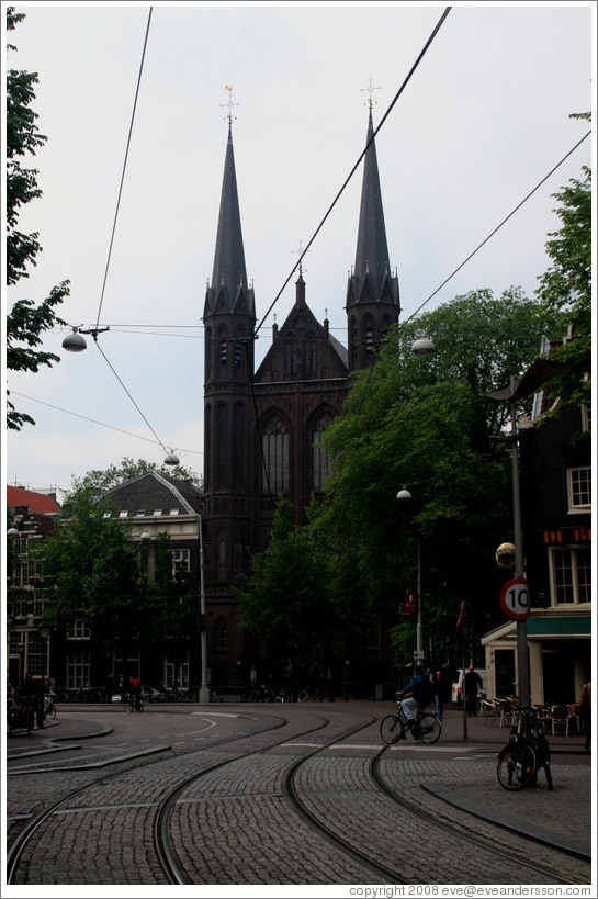 Church at Spui and Singel, Centrum district.