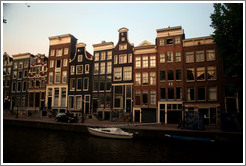 Canal and houses, Red Light district.